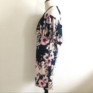 VENUS Dresses - Venus off shoulder dress floral teal large